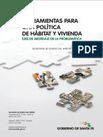 herramientas para políticas de hábitat y vivienda