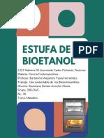 uso de los biocombustibles. ESTUFA A BASE DE ETANOL