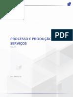 Processos e Produções de Serviços