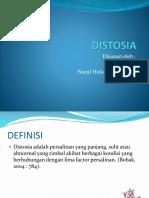 ppt distosia