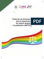Protocolo de actuación para la impartición de justicia LGBTI (México)