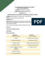 Práctica 5-Preparación de Soluciones Valoradas de Ácidos y Bases-Aguilar M-pinargote t - Saiteros Emily