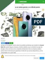 El Huawei Mate 30 Arrasa en Ventas Gracias a Su Ridículo Precio
