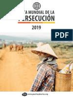 Persecudión Religiosa 2019