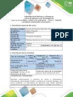 Guía de Actividad y Rúbrica de Evaluación - Fase 3 - Debatir Conceptos Relacionados Al Proyecto