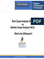 2 Root Cause vs Shallow Cause