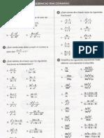 fracciones algebraicas ejercicios