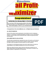 Email Profit Maximizer-30 Email Follow-Up Marketing Strategies For Your Online Business