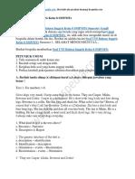 50+ Contoh Soal UTS Bahasa Inggris Kelas 8 SMP MTs Semester Ganjil