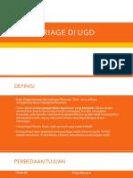 Triage UGD