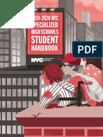 2020 Specialized High School Handbook