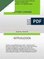 Planificacion Metodo Canvas