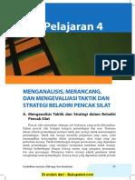 Pelajaran 4 Menganalisis, Merancang, dan Mengevaluasi Taktik dan Strategi Beladiri Pencak Silat.pdf