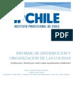 Informe de Distribucion y Organizacion de Las Cocinas
