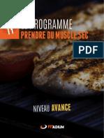 Auteur Inconnu - Alimentation Prise de Masse Avancepdf