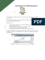 Servidor Proxy ISA Server 2006