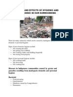 causes and effects of hygienic and unhygienic in our surrounding.docx