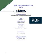 Unidad 3 Matematica Financiera