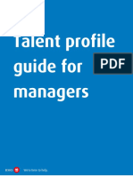 talent profile guide