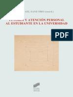 Tutoría y atención personal al estudiante en la universidad - Rafael Sanz (coordinador).pdf
