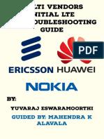 Multi Vendors LTE KPI Troubleshooting Guide