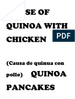 CAUSE OF QUINOA WITH CHICKEN.docx