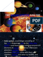The Solar System and the Earth