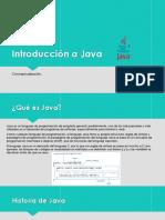 1. Introducción a Java. Clase 1