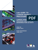 LMA GUIDE TO LONDON MARKET PROCESSING
