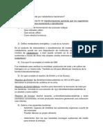 CUESTIONARIO Fisiologia y Metabolismo Bacteriano