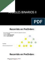 Arboles Binarios II