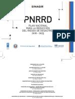 SINAGIR. Plan Nacional Para La Reducción Del Riesgo de Desastres. 2018-2023