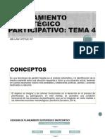 PLANEAMIENTO ESTRATÃGICO PARTICIPATIVO