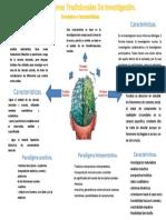 Infograma Los Paradigmas Tradicionales de Investigación
