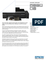 Epson L800 Datasheet