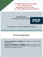 EOyE Unidad IV Lic Enf Plan Nuevo 13 Junio 2019