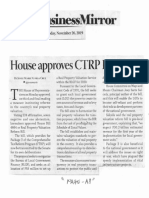Business Mirror, Nov. 26, 2019, House approves CTRP package 3.pdf