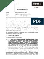060-13 - Pre - Constructora Mediterraneo s.a.c. - Oblig. Designar Supervisor de Obra