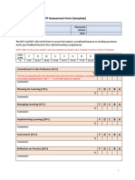 Appendix 3 MST Final TP Assessment Form (Template)