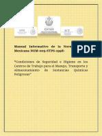 Manual Informativo de La Norma Oficial Mexicana NOM
