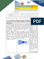 Ejercicio Hidrostática y Conservación en La Cantidad de Flujo