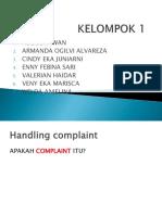 KELOMPOK 1 HANDLING KOMPLAINT.pptx