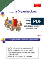 Semana 1 Teoría_Organizacional 2019-1