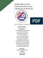 Portafolio NEUROPSICOLOGÍA INFANTIL