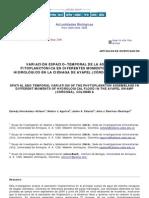 Variación espacio-temporal de la asociación fitoplantónica en diferentes momentos del pulso hidrológico en la ciénaga de Ayapel