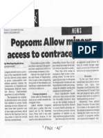 Philippine Daily Inquirer, Nov. 26, 2019, Popcom Allow minors access to contraceptives.pdf