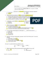Chem 16.1 Problem Set LE2 2019-2020