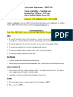Phgy 556 Course Outline 2018 Preliminary