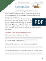Cuadernillo de Verano 1 Primaria Bloque 3 La Amistad