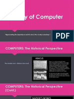History and Generations of Computers
